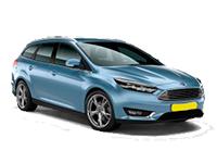 Ford Focus (stationcar/automaat): Klasse SCA