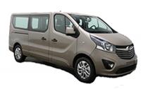 Opel Vivaro (9 personenbus): Klasse PBL
